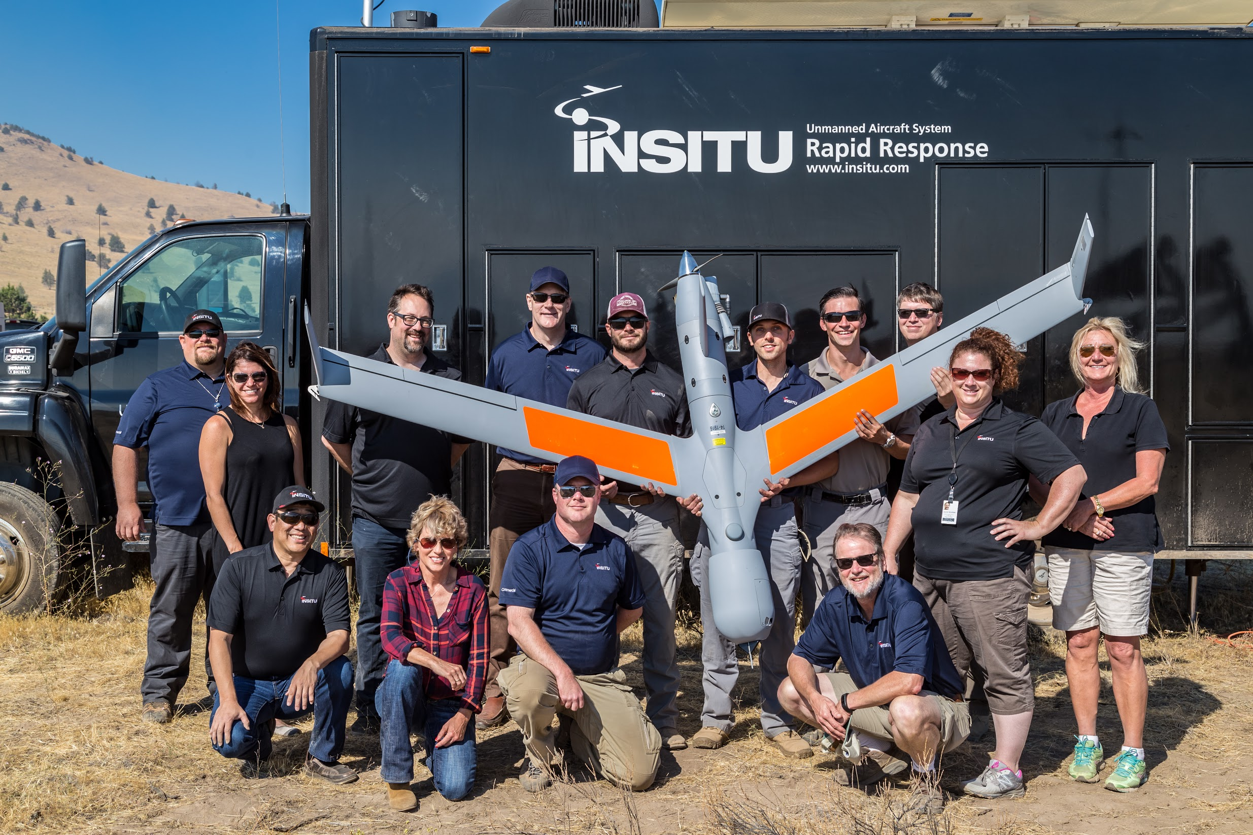 Insitu test flight crew